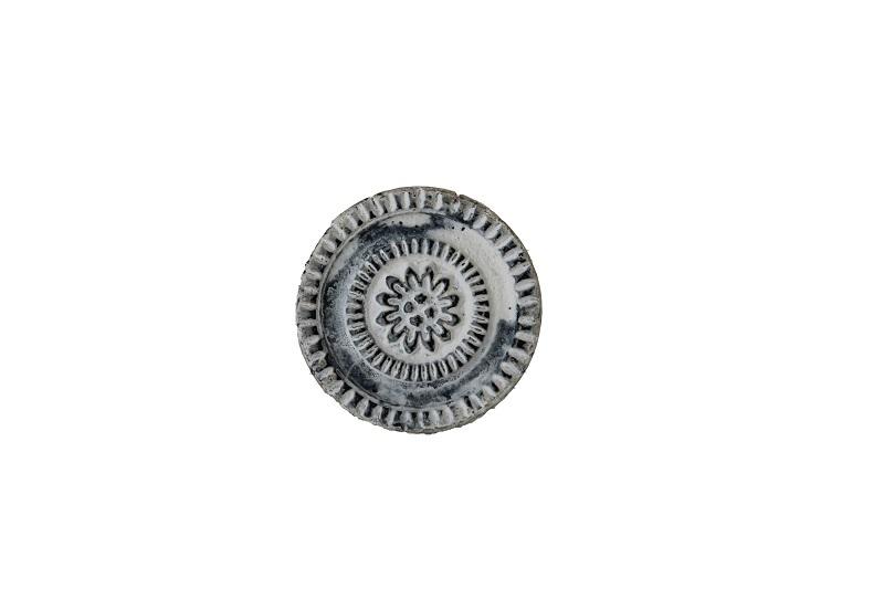 Deur knopje wit grijs zwart