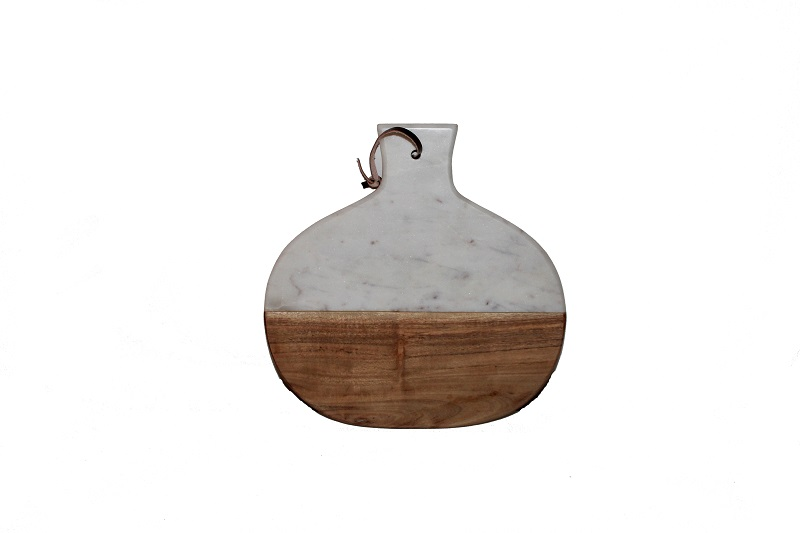 basic-home-ronde-kaasplank-wit-marmer-hout