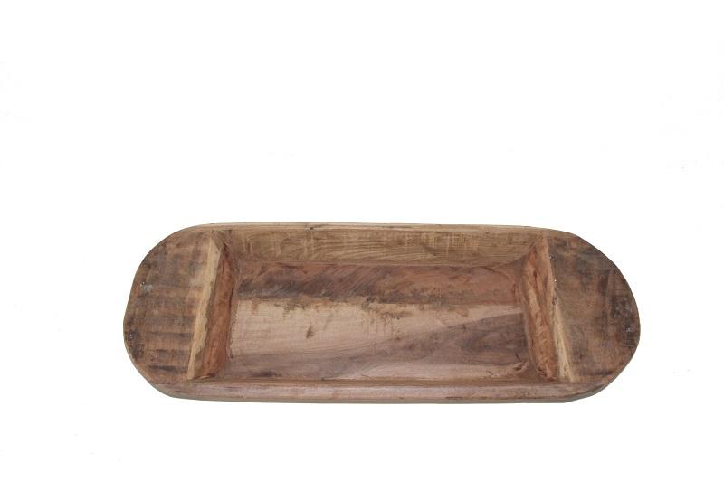 basic home houten schaal bad