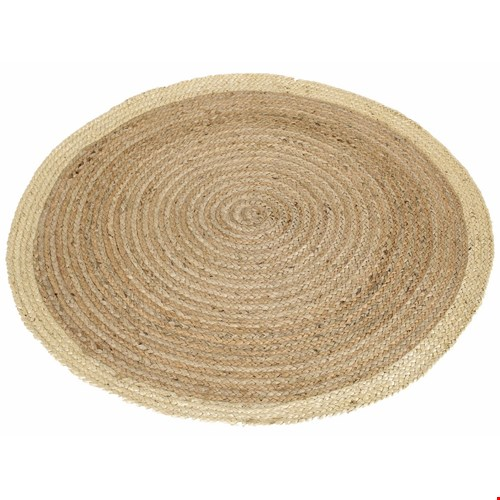 basic home rond kleed hemp 100